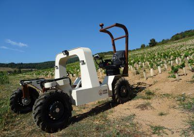 ALPO 4x4 Enjambeur viticole