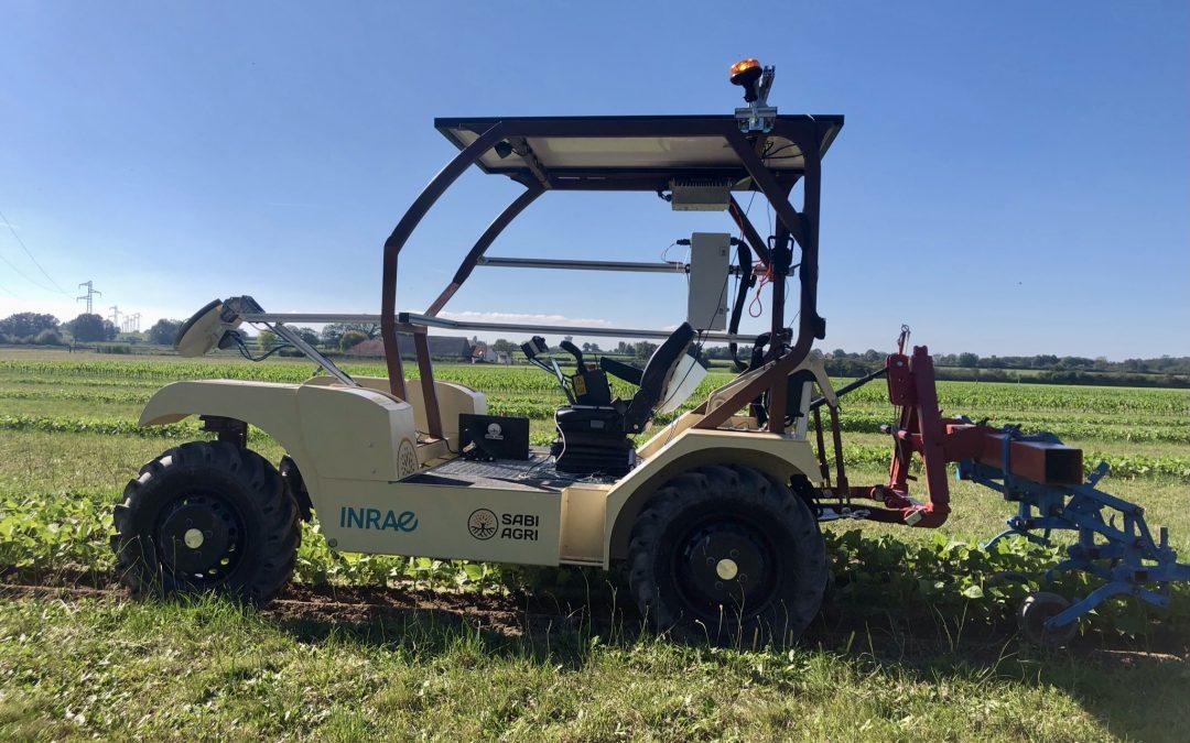 SABI AGRI et INRAE unissent leurs compétences pour concevoir les agroéquipements robotiques de demain grâce au LabCom TIARA.